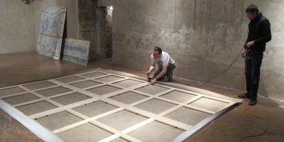 Milano - Oratorio Passione S. Ambrogio - allestimento